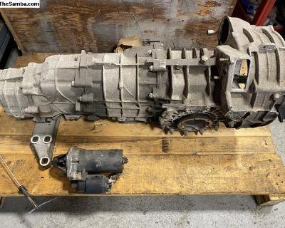 Porsche 911 993 G50 6-Speed AWD 4WD gearbox