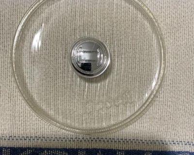 Rare Bosh 6inch Script Foglight Lens