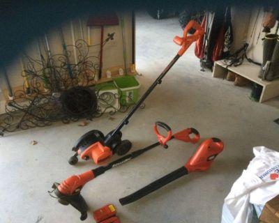 Black and Decker Yard Tools
