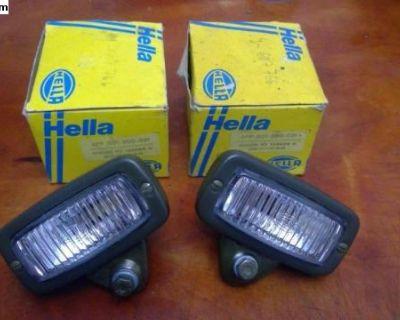 NOS Hella Fog Light Pair (2PF 001 300-021)