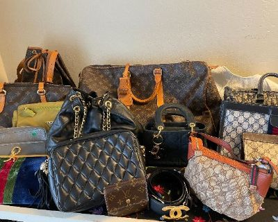 Warren Estate Sales x S. SF home filled with Chinese colletible & Designer clothing/handbag