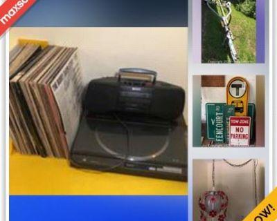 Canton Moving Online Auction - Fencourt Road