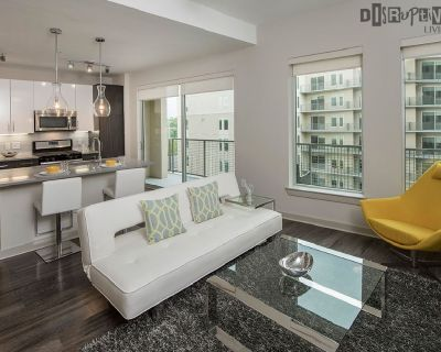 5-Star Luxury One Bed in Buckhead-POOL GYM LOUNGE AND MORE!!!