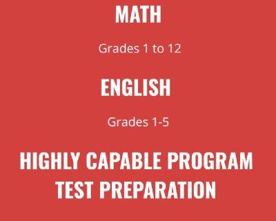 SUPER MINDS- Tutoring Math/English/Gifted Program