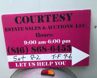EXCEPTIONAL LEES SUMMIT ESTATE SALE BY COURTESY