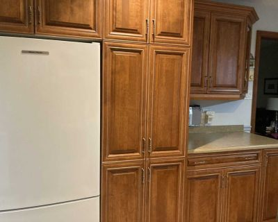 Kitchen: Maple cabinets custom made