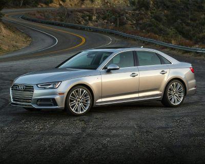 Pre-Owned 2018 Audi A4 quattro 4D Sedan 2.0T Premium