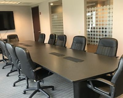 Private Meeting Room for 12 at Peachtree Offices at Lenox, Inc.