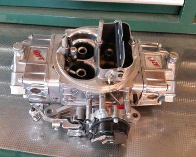 HOLLEY GAS 850 QUICK FUEL DOUBLE PUMPER CARB CARBURETOR ELECTRIC CHOKE