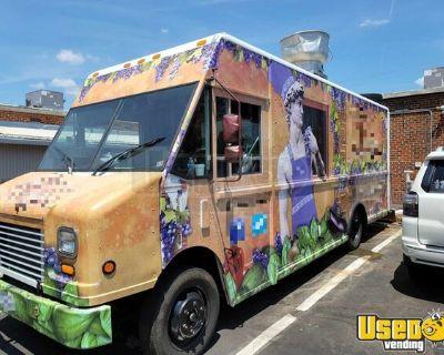 2004 Freightliner MT45 Mobile Kitchen Diesel Step Van Food Truck