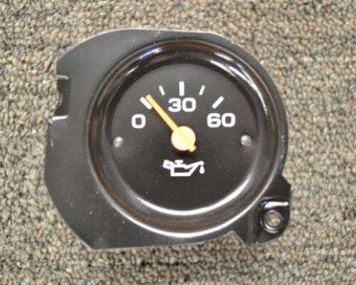 80-92 Plastic Needle Chevy Gmc Truck Suburban Blazer Oil Pressure Gauge