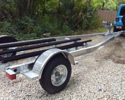 2022 Load Rite BA183100102T Aluminum Bass Boat Trailer