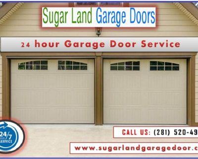 Immediate Garage Door Repair & Installation Services Sugarland TX 77498