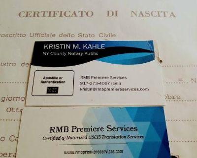 CERTIFIED ITALIAN ONLINE TRANSLATION SERVICES: 7 Days a Week