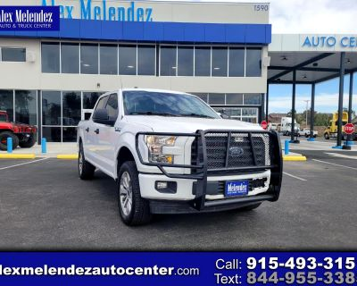 Used 2017 Ford F-150 XL 4WD SuperCrew 5.5' Box