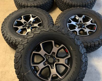 Texas - 2021 Rubicon Take-Off Wheels and Tires