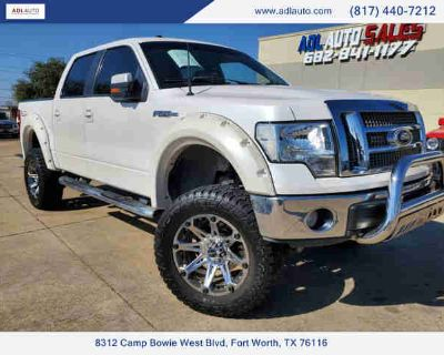 2010 Ford F150 SuperCrew Cab for sale