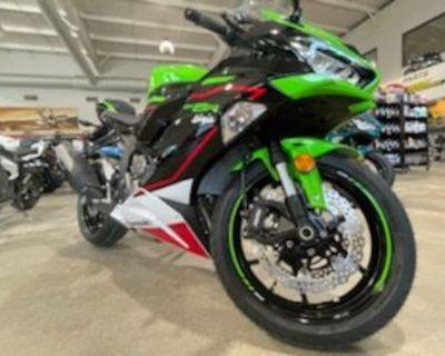2021 Kawasaki ZX-6R ABS KRT Edition Supersport Danbury, CT