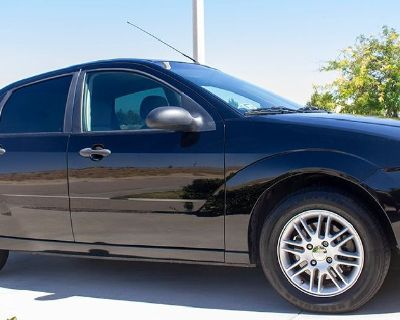 Black Ford ZX4 Focus PVEZ 2007 SE Sedan for Sale - FREE DASHCAM HOOKED UP ALREADY