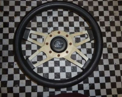 """Gt Grant 13"""" Racing Steering Wheel With Center Horn Button!!!"""