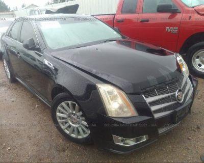 Salvage Black 2011 Cadillac Cts Sedan