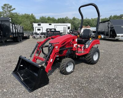 2020 T224 TYM Hydrostatic Tractor w/ Loader and Industrial Tires