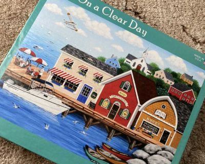 On a Clear Day - 1000 piece puzzle