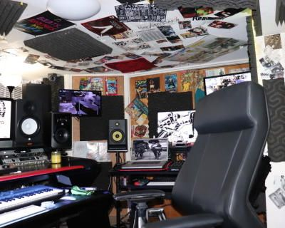 Recording Studio with an 80's Vibe Dedicated to Delivering Great Music, Laurelton, NY