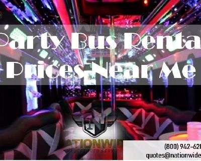 Rent A Party Bus Prices