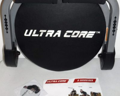 Ultra Core Max Foldable Full-Body & AB Exercise Machine w/DVD