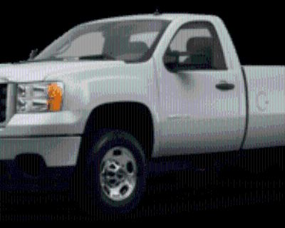2013 GMC Sierra 2500HD Work Truck Regular Cab Long Box 4WD