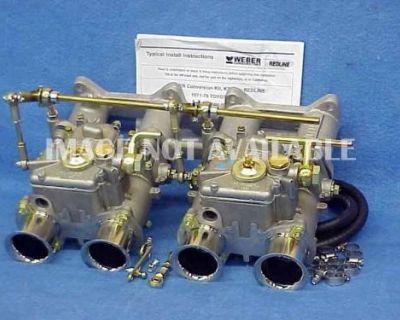 Rare Toyota 4age Racing 48mm Large Port Weber Dual 48dcoe Carburetor Kit K799-48