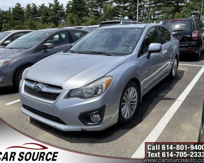 2014 Subaru Impreza Sedan 2.0i Limited