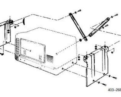 Cummins Onan 403-2689 Underfloor Mounting Kit Microlite
