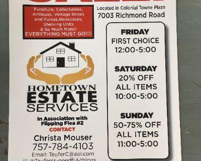 T&T Dynamite Estate Sale