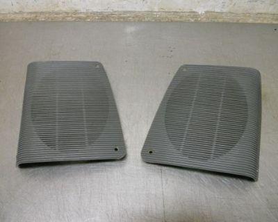87-93 Ford Mustang Gt Lx Rear Grey Speaker Grills 92 91 90 89 88