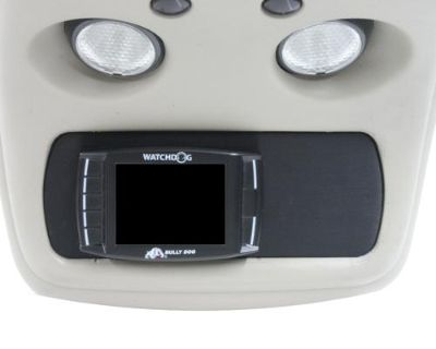 01-07 Chevy Silverado Billet Console Mount Bully Dog Gt Monitor No Switches Blk