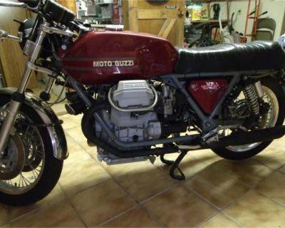 1975 Moto Guzzi Motorcycle