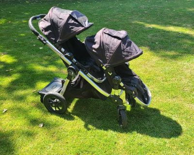 Guc double city select stroller with boogie board