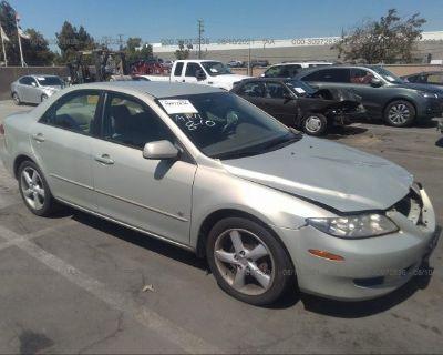 Salvage Beige 2004 Mazda Mazda6