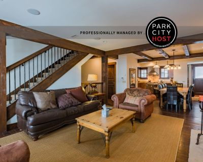 Silver Star Town-home - Ski In/Ski Out - Downtown Park City
