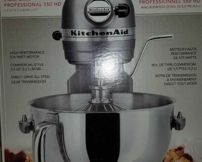 KitchenAid Professional 550 HD Bowl-Lift Stand Mixer