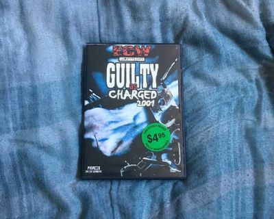 ECW - Guilty As Charged 2001 DVD