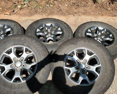 Georgia - 2020 JLU Freedom Edition Wheels/Tires/TPMS