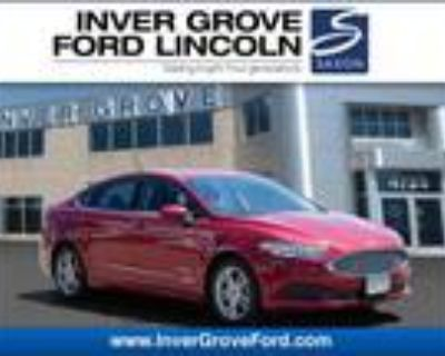 2018 Ford Fusion Red, 63K miles