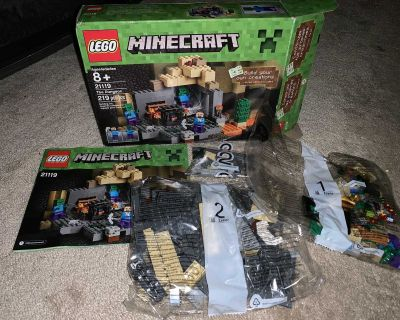 LEGO Minecraft The Dungeon Set 21119 NEW. Box is open but all bags still sealed and includes instructions
