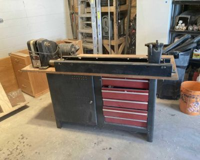 12 x 36 wood lathe with stand
