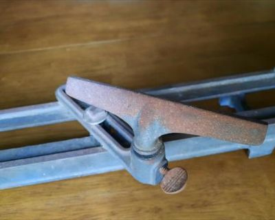 WANTED: 1930s Craftsman Tool Rest and Banjo