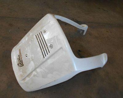 Yamaha Xc125 Riva 125 White Leg Shield Cowling 87 88 89 91 92 93 94 95 96 97