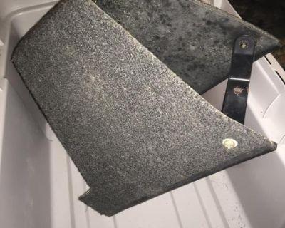 914-6 center console parcel tray storage carpet
